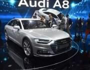 """奥迪 A8 发布:首款 L3 级自动驾驶汽车 带""""堵车巡航"""""""