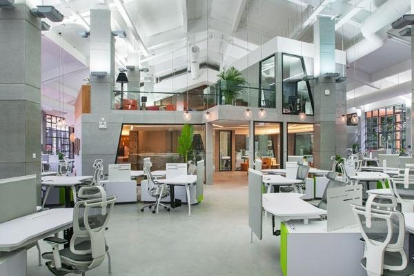 腾讯新办公室6